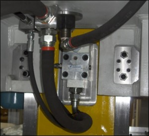 Hydraulic safety overload system