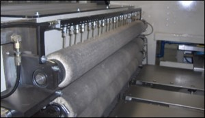 Lubrication system of the sheet